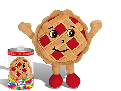 """New-Super Whiffer Sniffers-Jerry Pie-10"""" Very Soft Plush-Cherry Pie Scented!"""
