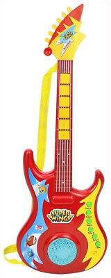 Bontempi Electronic Guitar Rock 246969 - Super Wings. Delivery is Free