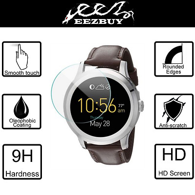 9H Tempered Glass Screen Protector Saver For Fossil Q Founder 2nd Gen Smartwatch