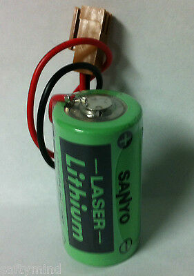 Brand New Sanyo CR17335SE-R 3 Volt Lithium Battery, Industrial & Memory Applicat
