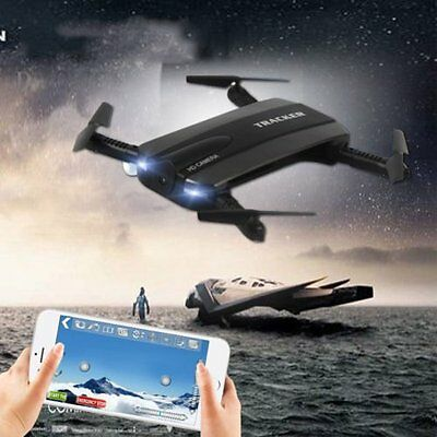 Hover Tracker Pliable Mini Rc Selfie Drone Wifi FPV 720 P HD Caméra Quadcopter