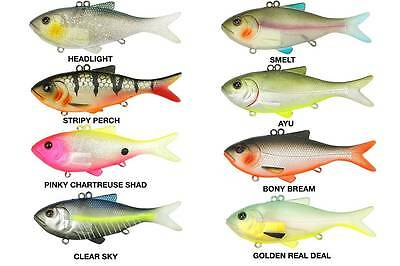 Westin Bony The Bream Hybrid Soft Plastic Pre Rigged Lure - Choose Your Colour