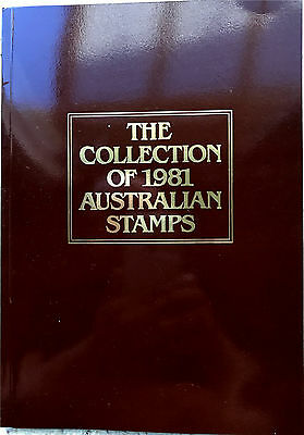 1981 Australia Post Deluxe Collection Yearbook Album with all stamps