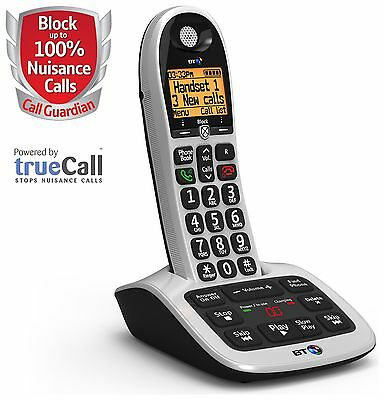 BT  Big Button 4600 Telephone with Answer Machine - Single.