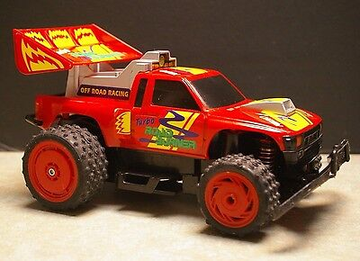 Vintage Nikko 'turbo Road Burner' Off-Road Racing Remote Control Rc Truck