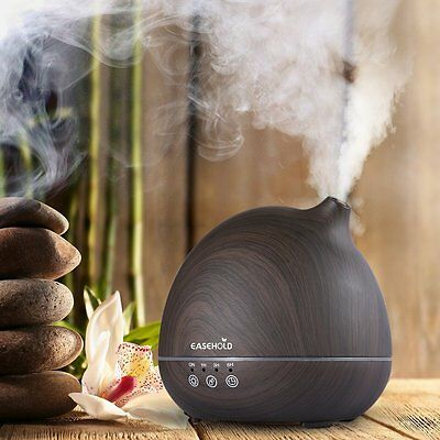 Free Ship Ultrasonic Humidifier Touch Key Aroma Diffuser For Sleep Office 400ML