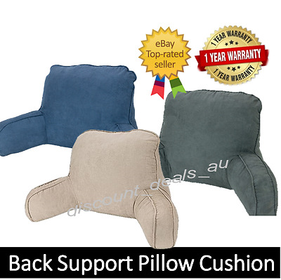 Therapeutic Back Support Pillow Cushion Portable Travel Rest TV Reading Pillow
