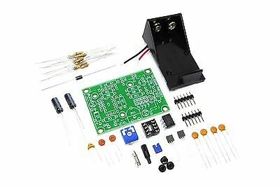 Velleman Signal Generator Mini Kit MK105 Unsoldered DIY 1kHz Flux Workshop
