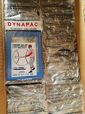 100 DYNAPAC Trading / SPORTS  Card Holder protector screwdown BLUE