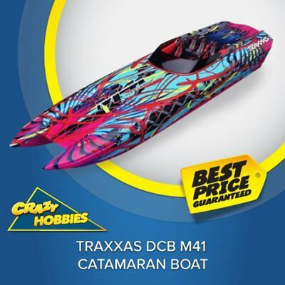 Traxxas DCB M41 Catamaran Boat #TRA57046-4 CRAZY HOBBIES