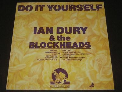 Ian dury and the blockheads do it yourself stiff 1979 lp ian dury the blockheads do it yourself solutioingenieria Choice Image
