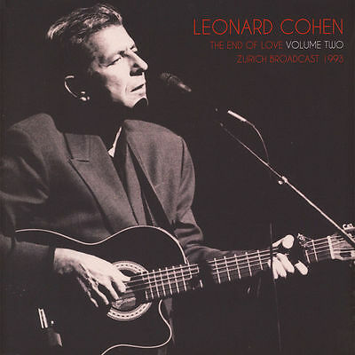 Leonard Cohen - The End Of Love Volume 2 - Sealed Double Vinyl LP