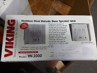 Viking Electronics W-3000M Viking Weather Resistant Speaker Unit NIB!!