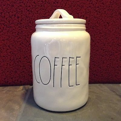 Rae Dunn By Magenta COFFEE Jar Canister Fast Ship to You! NEW