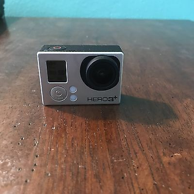 GoPro Hero 3+ Black AS IS with Scratched Lens
