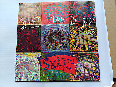 Promo Single Sided Spin Doctors - What Time Is It- Epic Spain 1991 Vg+