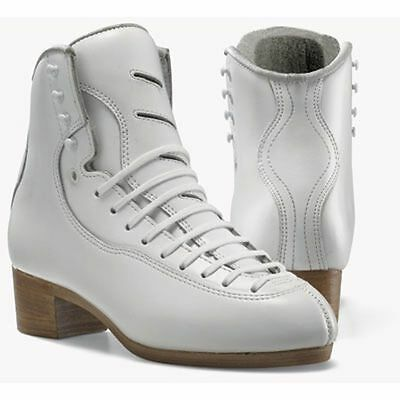 Clearance Jackson Figure Skates Dj 3500 Ultra Comp White Boots Only Womens Sizes