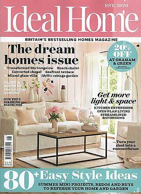 Ideal Home Magazine - August 2017 (Current Issue - BN/SEALED)