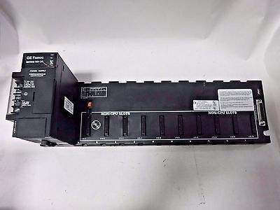 Ge Fanuc Series 90-30 Power Supply W/ 10 Slot Expansion Rack IC693CHS392H