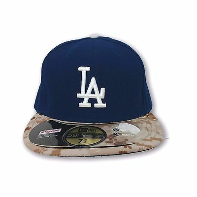 fe7630e0 LOS ANGELES DODGERS New Era 2018 Memorial Day On-Field 59FIFTY ...