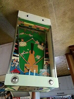 Midways Little League Pinball Baseball for Parts or Restoration Vintage Coin Op