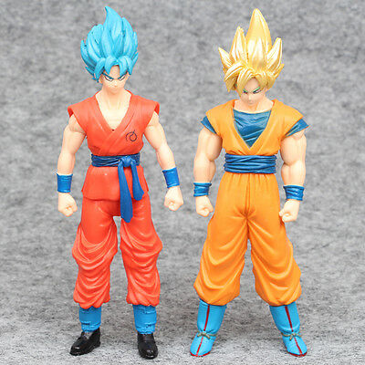 Anime Dragon Ball Z Goku Action Figures PVC Dolls Collection Toys Gifts 2 PCS