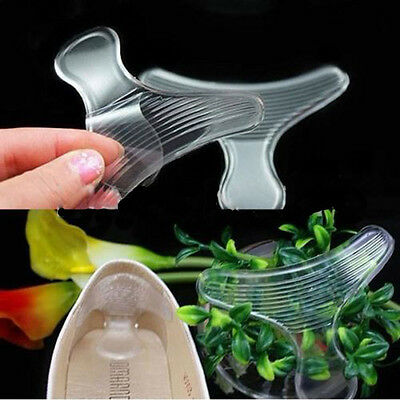 1 Pair Silicone Shoe High Heel Dance Insole Pad Cushion Gel Grips Foot Protector