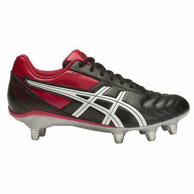 Asics Lethal Tackle - Black/Racing Red