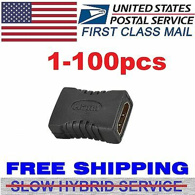 HDMI Female to Female Coupler Extender Adapter Connector F/F for HDTV HDCP lot