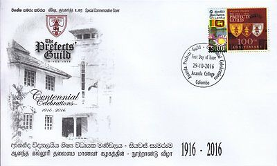 Special Commemorative Cover : Centenary Of The Prefects Guild