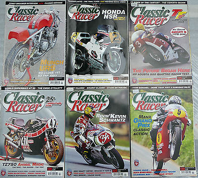 2007 CLASSIC RACER Nos. 123 - 128 JANUARY - DECEMBER 6 ISSUES
