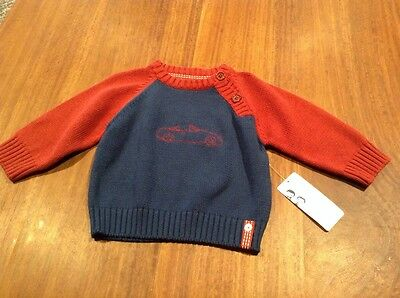 Ticklish Baby Boy Jumper, Size 00, Brand New With Tags