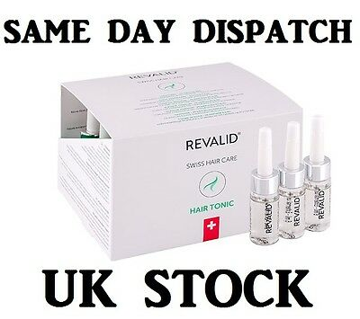 Revalid Hair Tonic 20x6ml treatment with CAFFEIN combat hair loss Placenta Placo