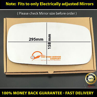 For NISN-Cabstar NT400 F24 Year 2006 To 2018 heated Right Hand Side Door Mirror Glass With base Plate