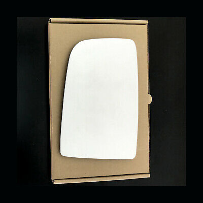 Left Side Convex Wing Mirror Glass For Mercedes Sprinter Fits Reg 2006 To 2010