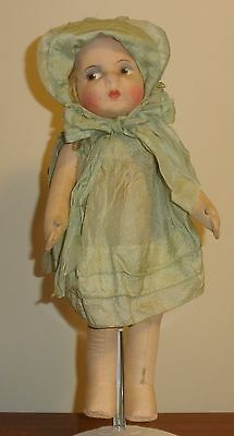 Antique or Vintage Jointed Cloth Doll 1920's? 18 Inches Tall