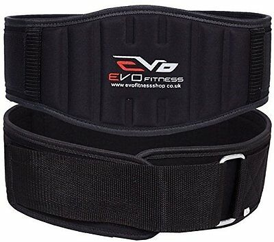 """EVO Fitness 6"""" Neoprene Weight Lifting Gym belts Back Support Wraps"""