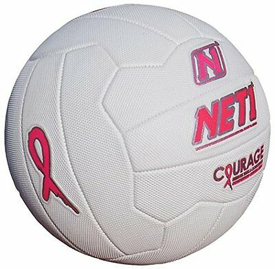 NET1 Courage Outdoor Sport Ultimate Professional Netball Silver & Black Size 5