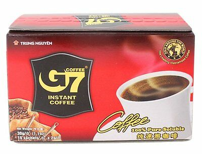 AU 15bag instant coffee Weight Loss Vietnam Instant G7 Black Coffee Trung Nguyen