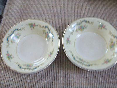 Vintage Edwin M. Knowles Small China Fruit or Dessert Bowls