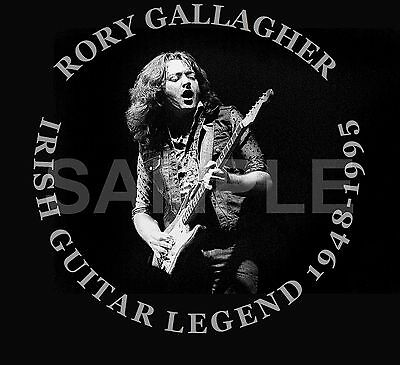 Rory Gallagher Graphic Design Art Work