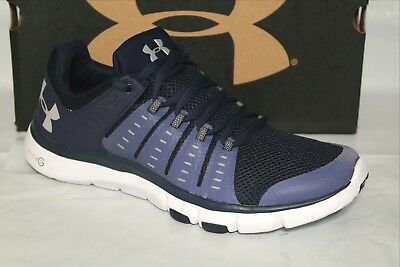 Under Armour Ua Micro G Limitless Mens Training Shoes, Midnight/wht ,1274410-410