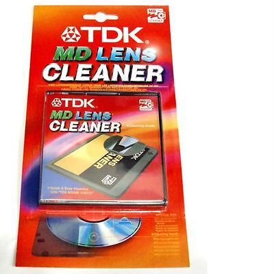 TDK Minidisc Lens Cleaner MD Mini Disc Laser-Reiniger (Neu)