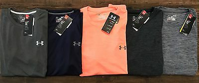 Under Armour Men's Heatgear Classic or Twisted Tech Shortsleeve T-Shirt