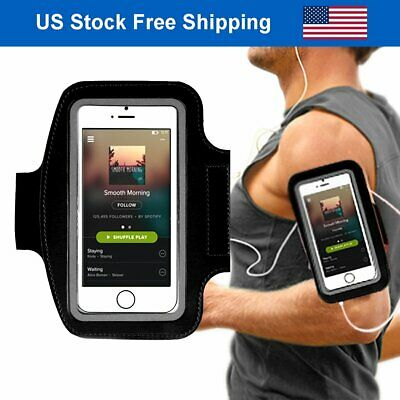 Running Armband iPhone 6s 7 Plus Sport Gym Arm Band Holder for Cell Phone 5.5'