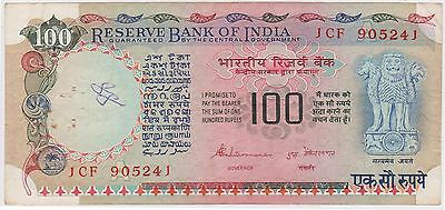(N3-87) 1979 India 100 Rupees bank note (Space filler) (M)