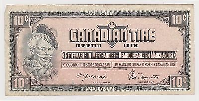 (N3-16) 1960s Canada 10c Canadian type promotional bank note (C)