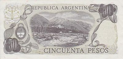 (N3-4) 1974 Argentina 50 peso bank note (D)