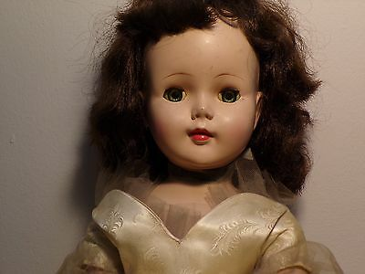 """Beautiful Vintage 24"""" American Character Doll Probably '50's-'60's Sweet Sue"""