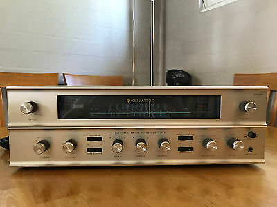 Vintage KENWOOD KW-55A TUBE RECEIVER 55w, work well and great condition